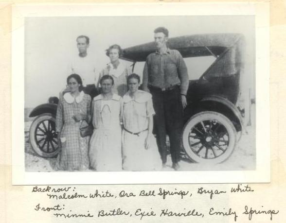 Photo of Bryan White and siblings