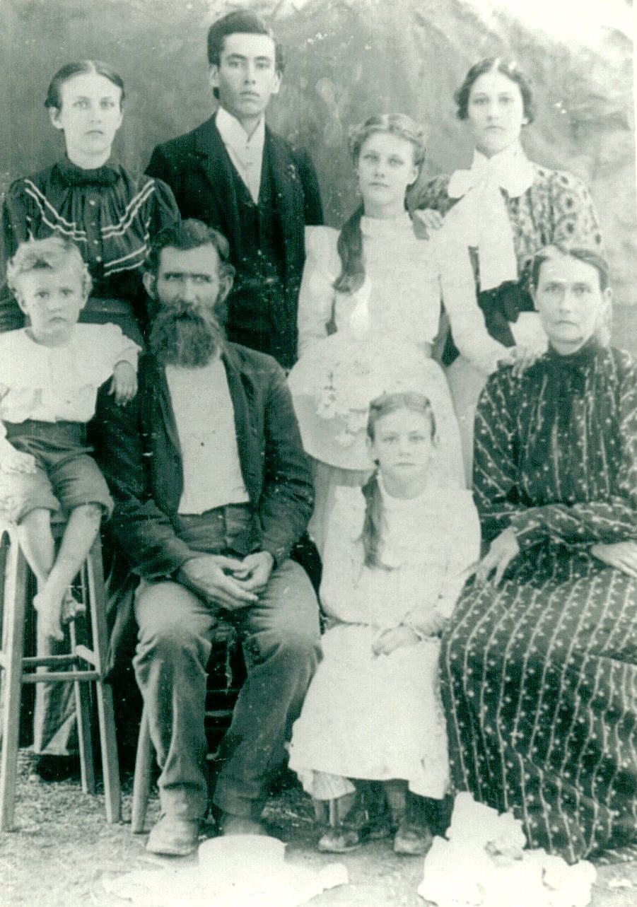 Photo of Joseph White Family